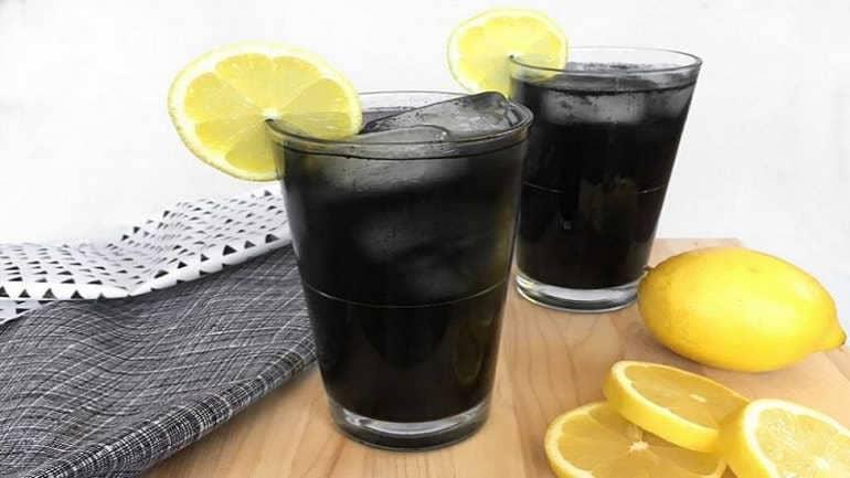 Черный лимонад