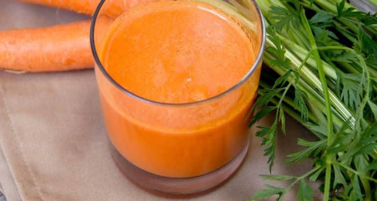 Вред морковного сока