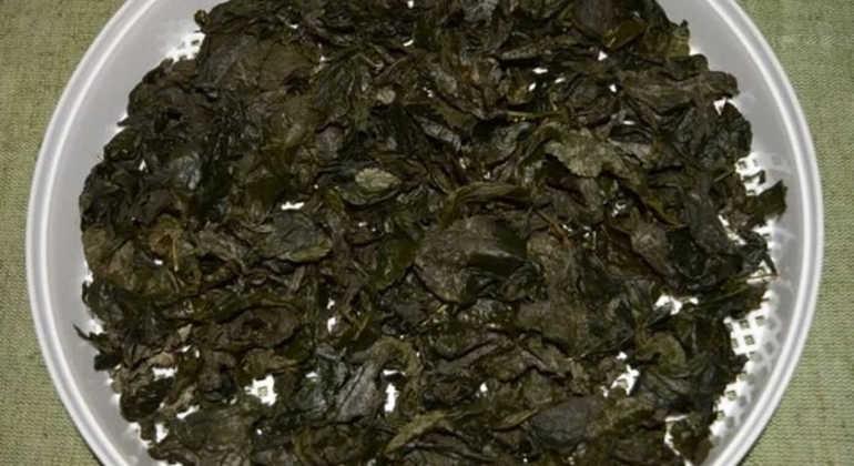 Ферментированные листья малины