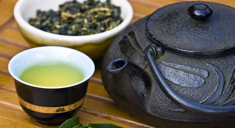 Зеленый чай для давления