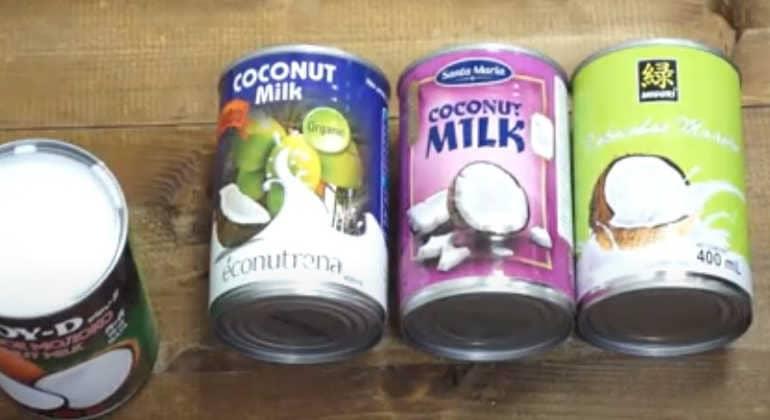 Срок хранения кокосового молока