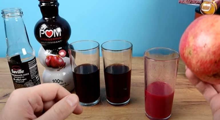 Полезные свойства гранатового сока